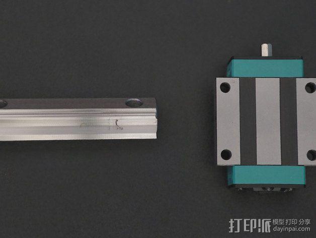 相机滑杆 3D模型  图5