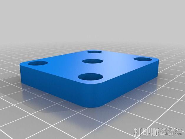 相机滑杆 3D模型  图4