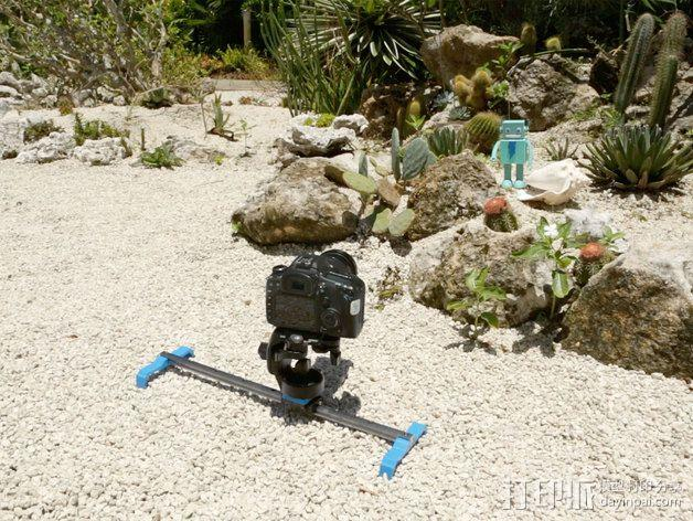 相机滑杆 3D模型  图7