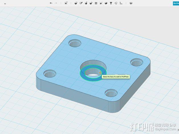 相机滑杆 3D模型  图10