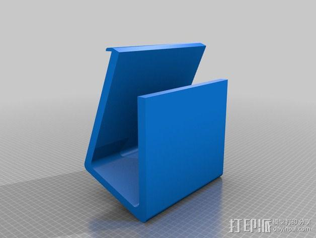 Macbook Pro 苹果笔记本电脑支架 3D模型  图2