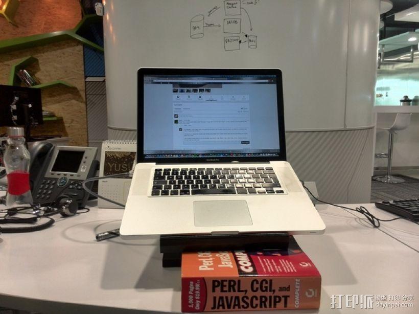 Macbook Pro 苹果笔记本电脑支架 3D模型  图7
