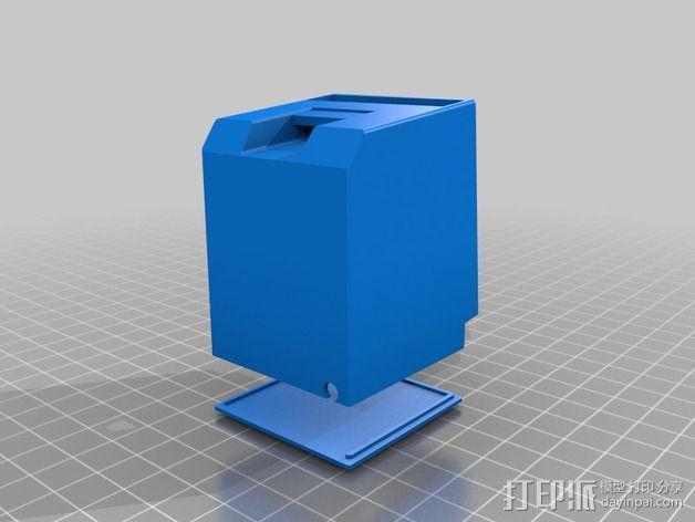 Mac iPod Nano苹果播放器保护盒 3D模型  图4