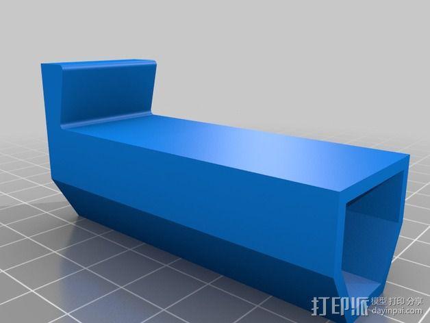 手机三角支撑架 3D模型  图5