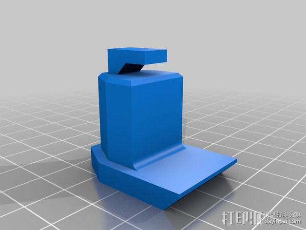 手机三角支撑架 3D模型  图6