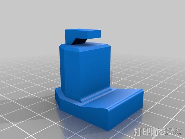 手机三角支撑架 3D模型  图7