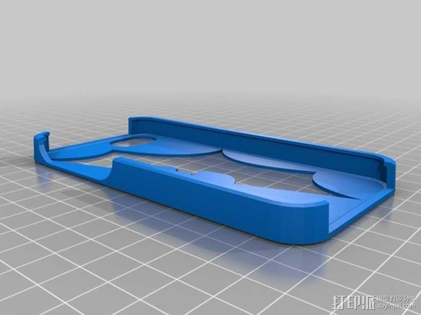 蝙蝠侠iPhone5手机外壳 3D模型  图2