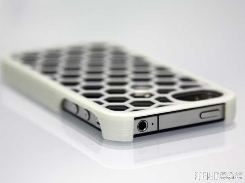 蜂巢iPhone手机壳 3D模型  图1