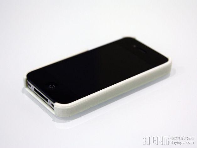 蜂巢iPhone手机壳 3D模型  图3