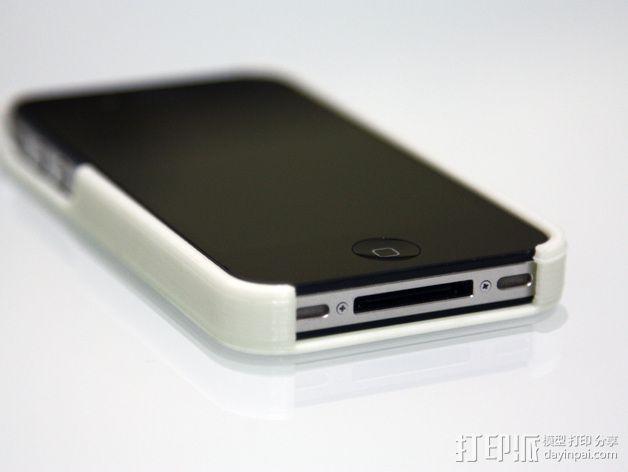 蜂巢iPhone手机壳 3D模型  图4