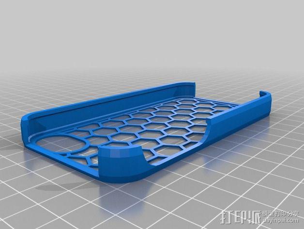 蜂巢iPhone手机壳 3D模型  图5