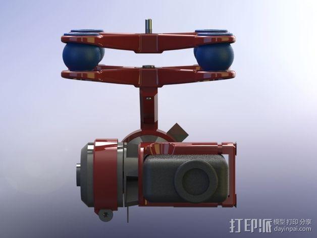 万向节联轴器 3D模型  图3
