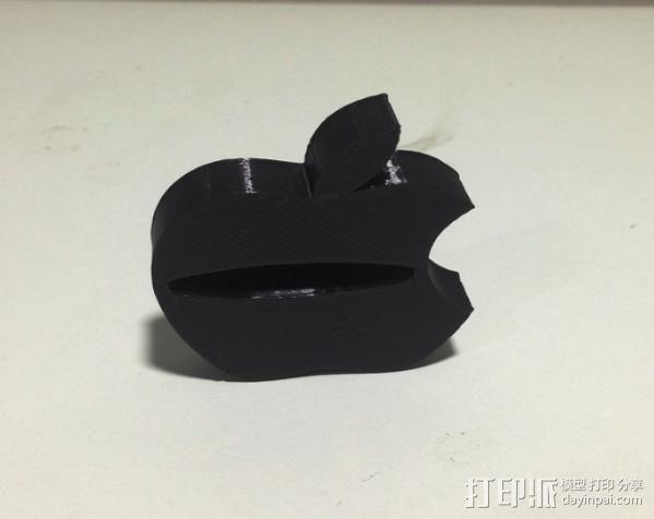 苹果电视遥控器置放架 3D模型  图3