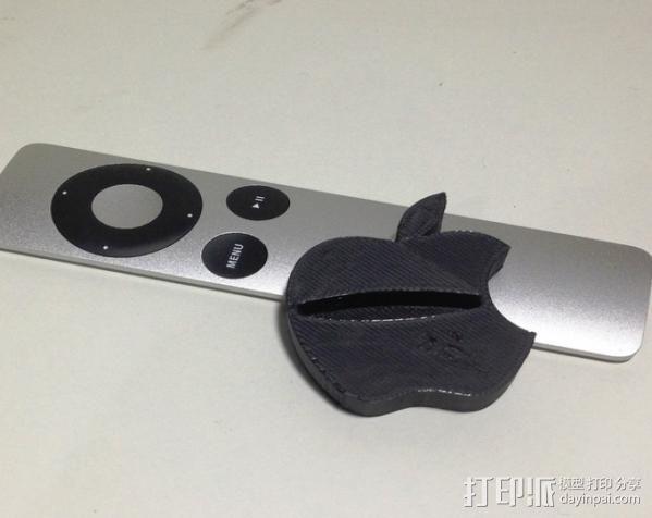 苹果电视遥控器置放架 3D模型  图4