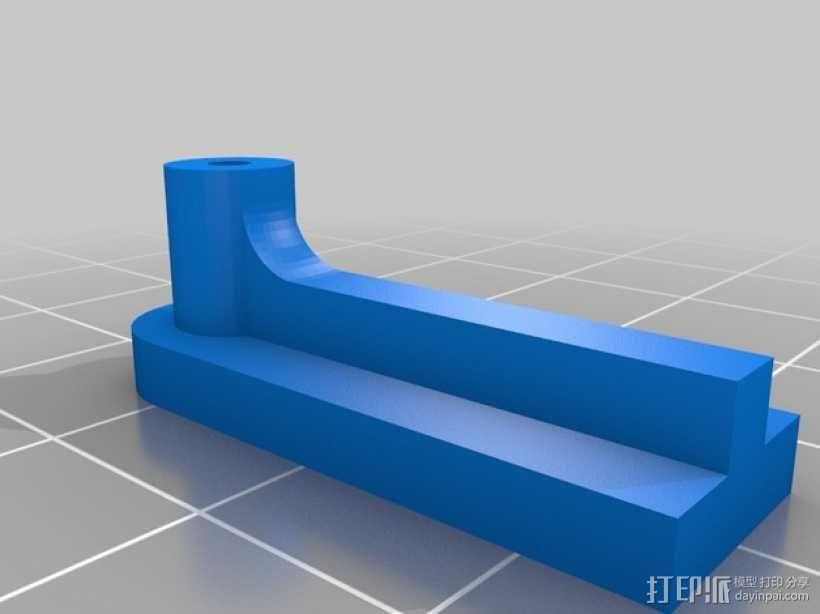马达相机架 3D模型  图2
