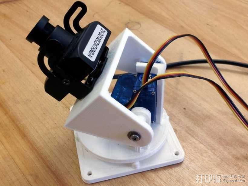 马达相机架 3D模型  图1