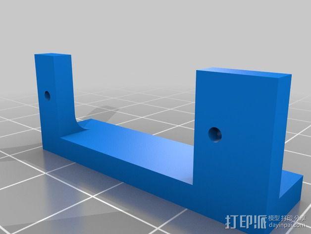 马达相机架 3D模型  图5