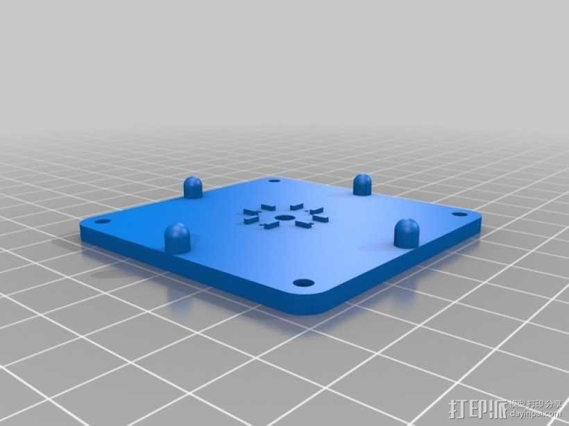 马达相机架 3D模型  图6