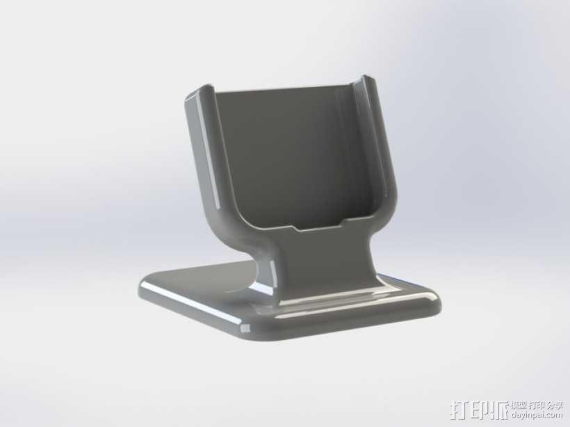 三星Galaxy S4 手机支架  3D模型  图1