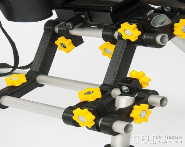 摄像机/照相机肩架 3D模型  图2
