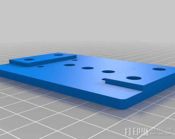 摄像机/照相机肩架 3D模型  图4