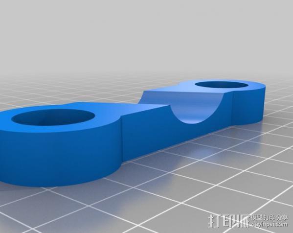 摄像机/照相机肩架 3D模型  图5