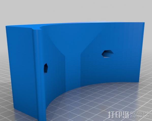摄像机/照相机肩架 3D模型  图6