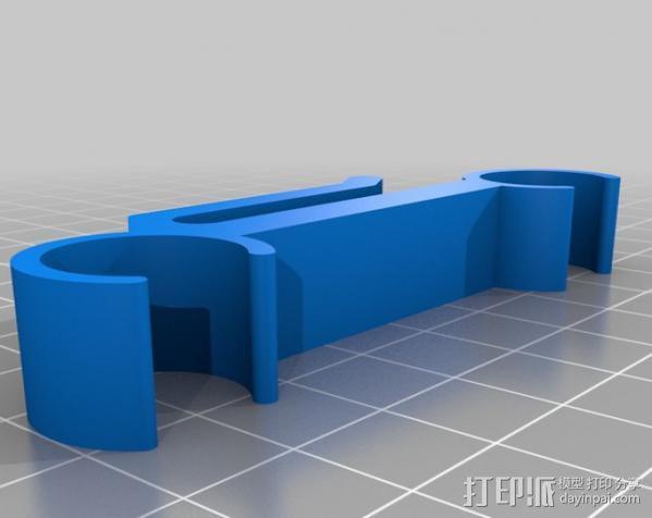 摄像机/照相机肩架 3D模型  图9