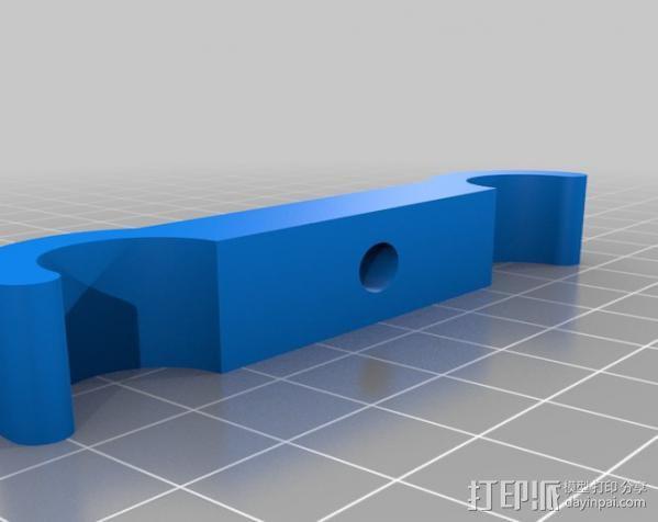 摄像机/照相机肩架 3D模型  图8