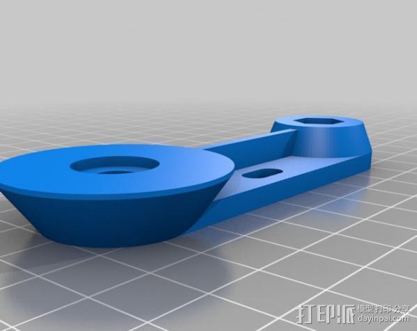 摄像机/照相机肩架 3D模型  图10