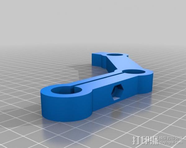 摄像机/照相机肩架 3D模型  图11