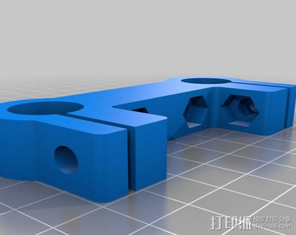 摄像机/照相机肩架 3D模型  图12