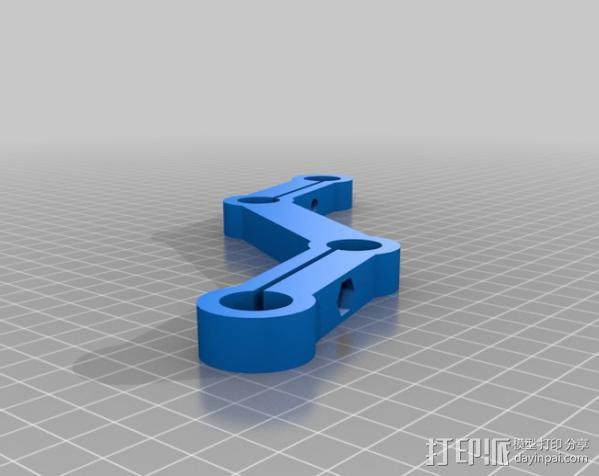 摄像机/照相机肩架 3D模型  图13