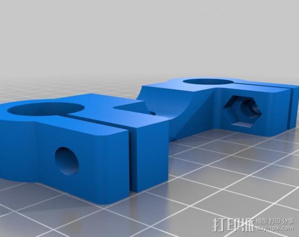 摄像机/照相机肩架 3D模型  图14