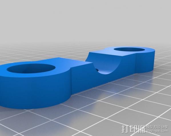 摄像机/照相机肩架 3D模型  图15