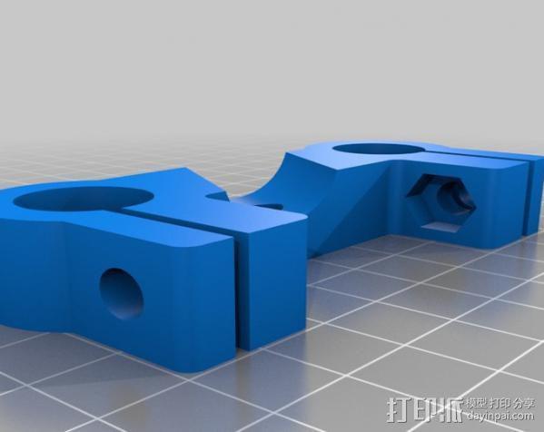 摄像机/照相机肩架 3D模型  图18