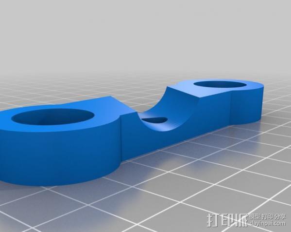 摄像机/照相机肩架 3D模型  图17
