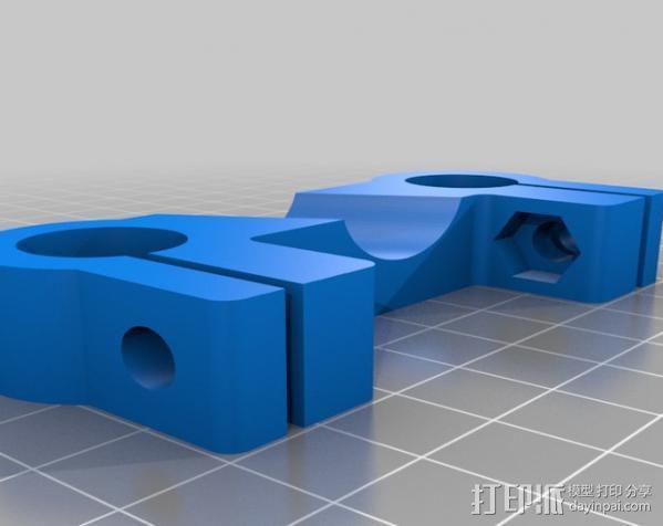 摄像机/照相机肩架 3D模型  图16