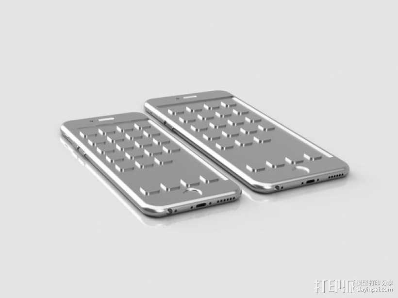 iPhone 6, 6 Plus苹果手机模型 3D模型  图2