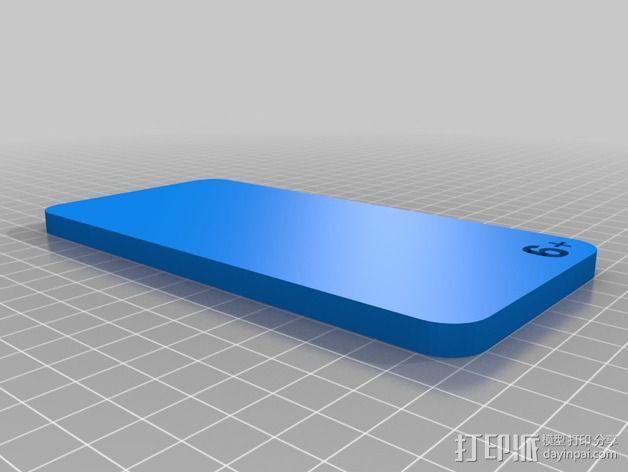 苹果手机模型  3D模型  图4