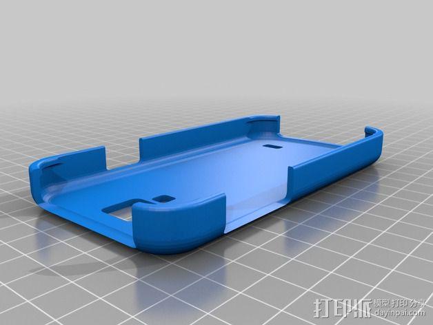 三星Samsung Galaxy S4手机外壳 3D模型  图1