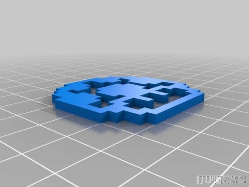 马里奥蘑菇 3D模型  图1
