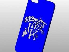 肯塔基大学标志Iphone 5手机保护壳 3D模型