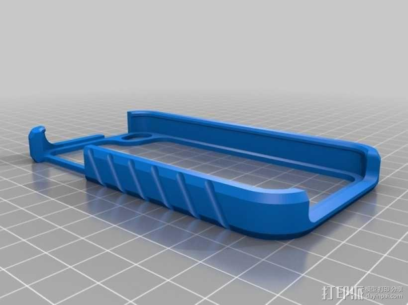 iPhone4/4S手机壳 3D模型  图2