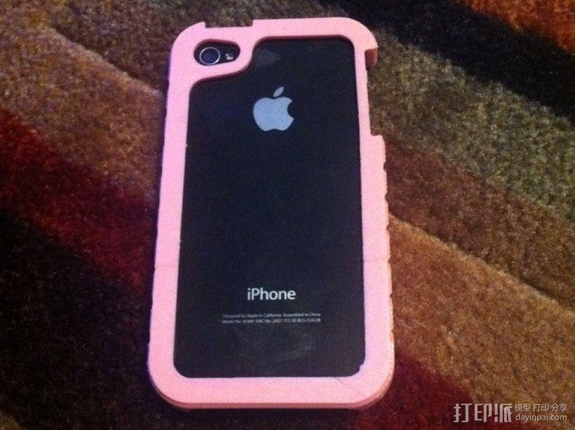 iPhone4/4S手机壳 3D模型  图1