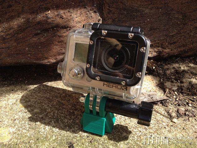 相机迷你三脚架 3D模型  图4