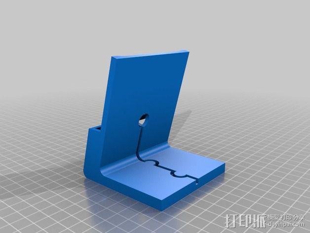Nexus 5手机支撑架 3D模型  图2
