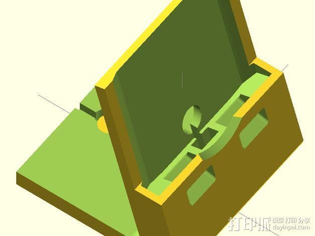 Nexus 5手机支撑架 3D模型  图5