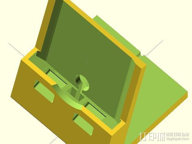 Nexus 5手机支撑架 3D模型  图3