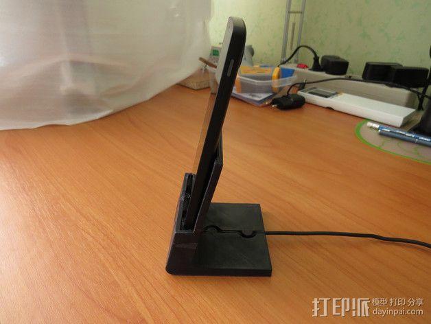 Nexus 5手机支撑架 3D模型  图8